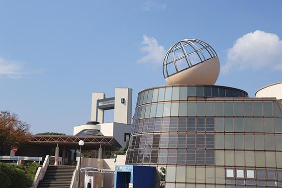 浜岡原子力館の外観写真